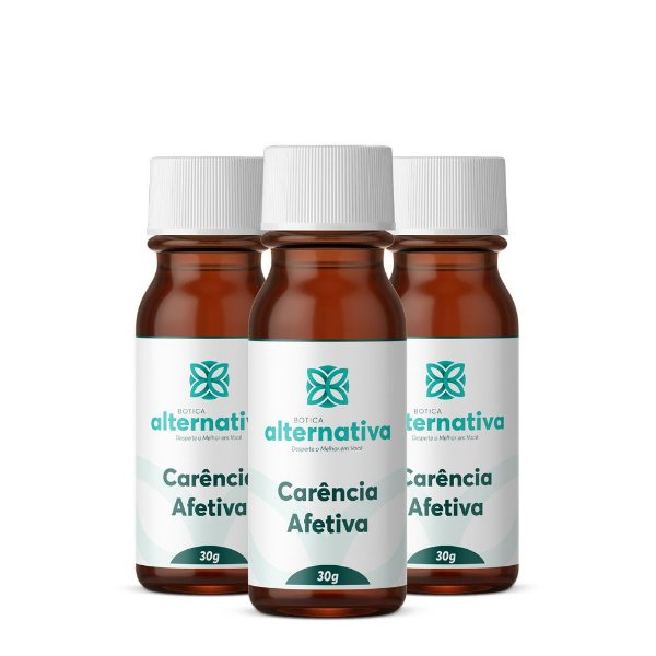 Kit Floral para Diminuir Carência Afetiva 30g Glóbulos