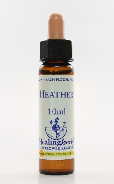 Floral de Bach Heather - Essência Estoque 10mL