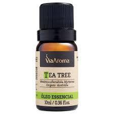 Óleo essencial de Melaleuca (Tea Tree) 10ml Via Aroma
