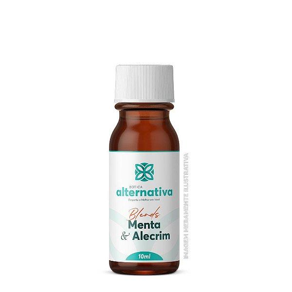 Blend de óleos essenciais 5mL -  Menta & Alecrim