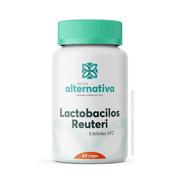 Lactobacilos Reuteri 5 bilhões UFC 60 Cápsulas Vegetais
