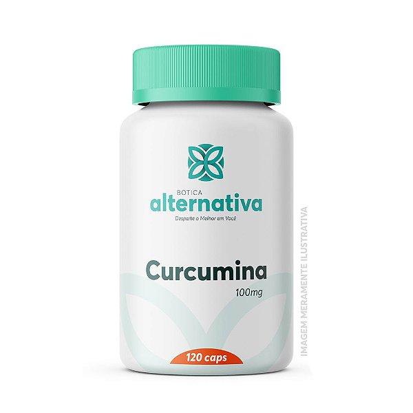 Curcumina (Curcuma longa) 100mg 120 Cápsulas Vegetais