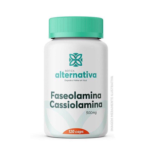 Faseolamina 500mg + Cassiolamina 500mg 120 Cápsulas Vegetais