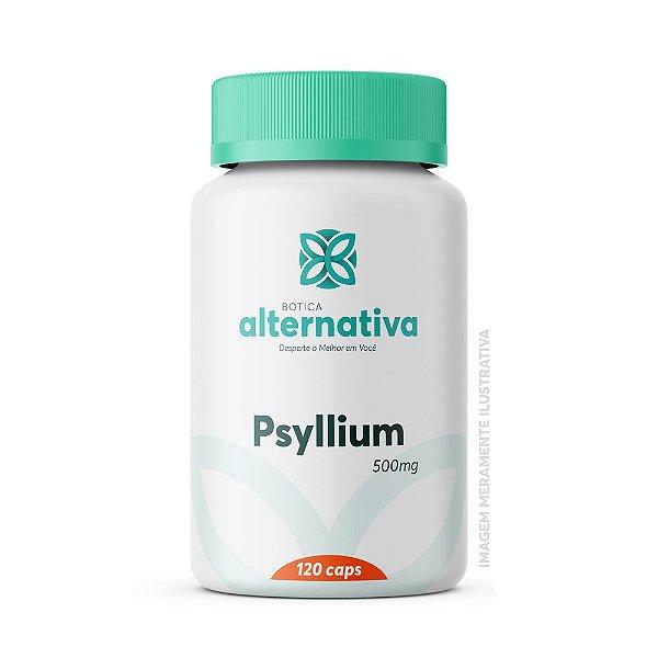 Psyllium 500mg 120 Cápsulas Vegetais