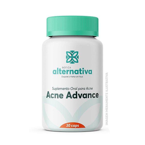 Acne Advance - Suplemento Oral para Acne 30 Cápsulas Vegetais