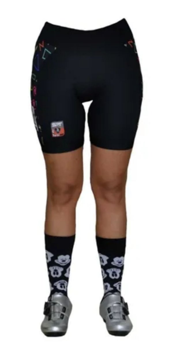 Bermuda Ciclismo Ciclista Short  Forro Gel Feminina Ref 04