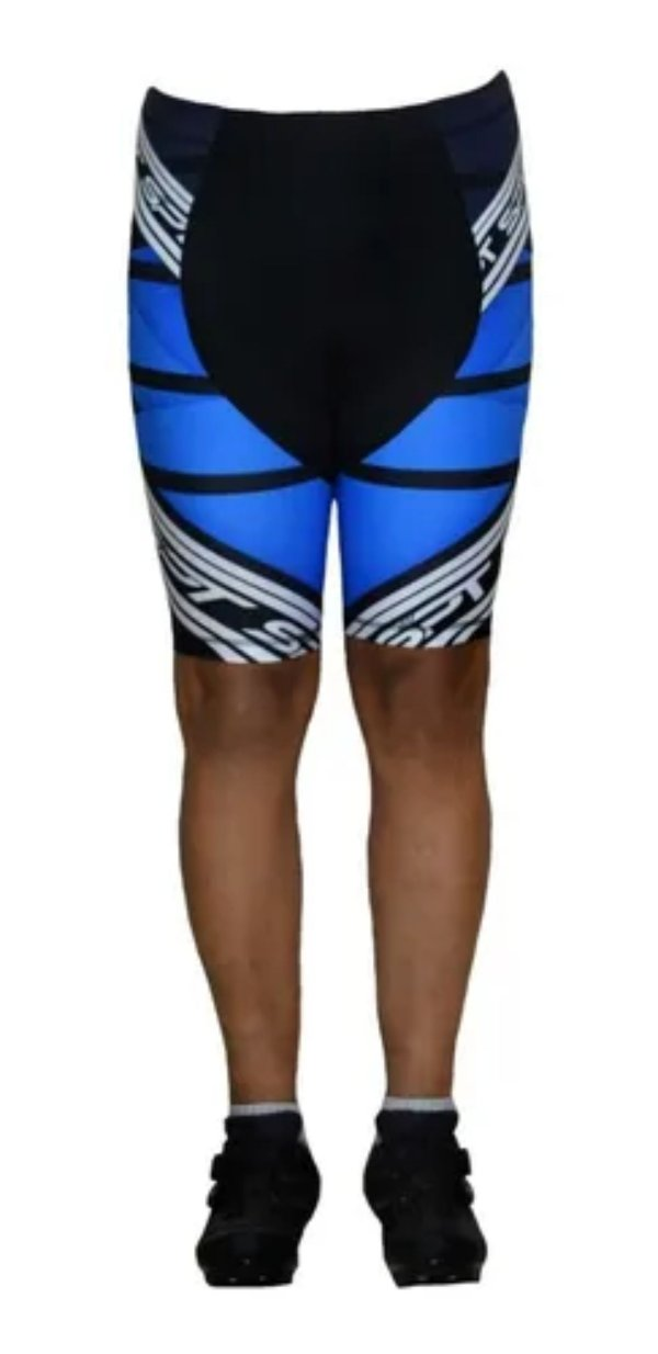Bermuda Ciclismo Ciclista Short Forro Gel Masculina Ref 02