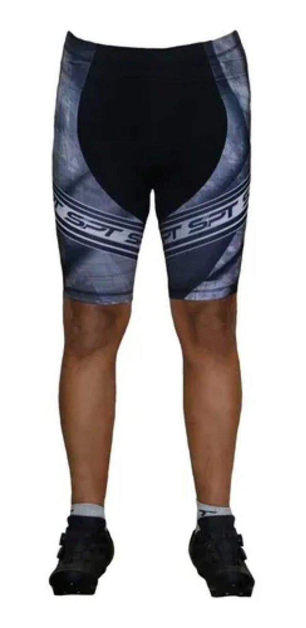 Bermuda Ciclismo Ciclista Short Forro Gel Masculina Ref 03