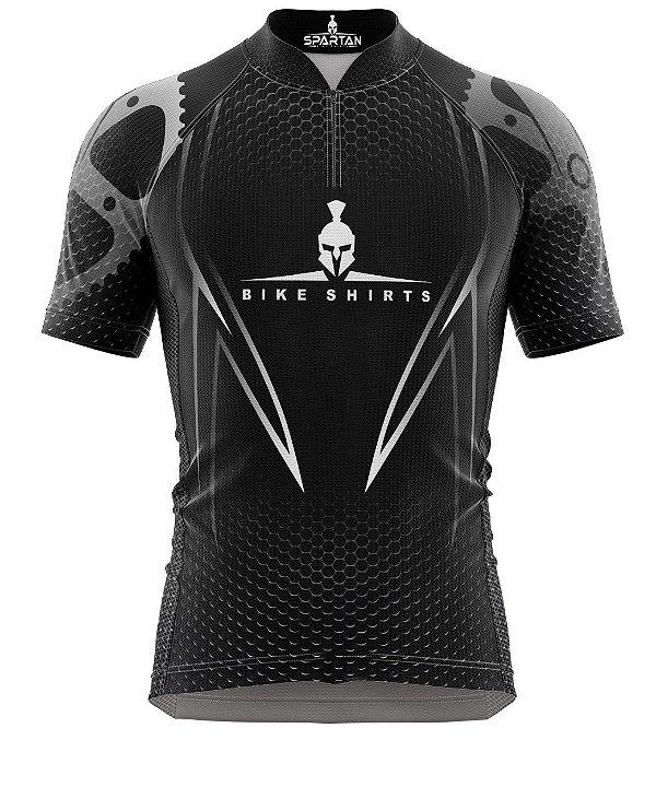 Camisa de Ciclismo Manga Curta Proteção Solar FPU 50+ Marca Spartan Ref. 03