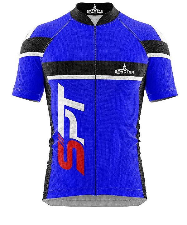 Camisa de Ciclismo Manga Curta Proteção Solar FPU 50+ Marca Spartan Ref. 08