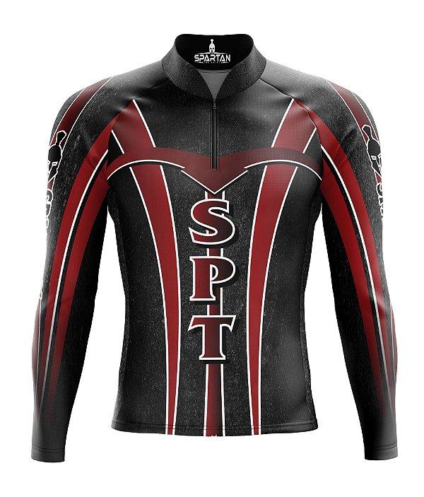 Camisa de Ciclismo Manga Longa Proteção Solar FPU 50+ Marca Spartan Ref. 03