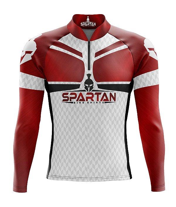 Camisa de Ciclismo Manga Longa Proteção Solar FPU 50+ Marca Spartan Ref. 07