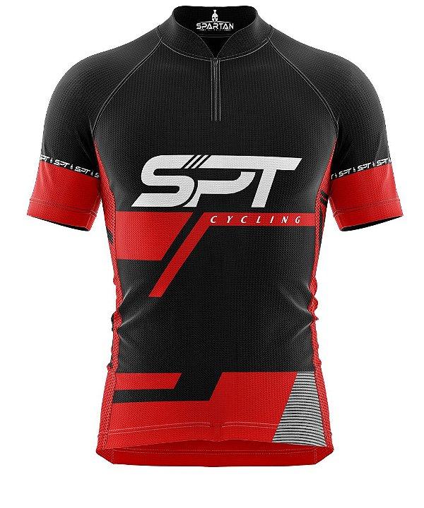 Camisa de Ciclismo Manga Curta Proteção Solar FPU 50+ Marca Spartan Coleção W Ref. 02
