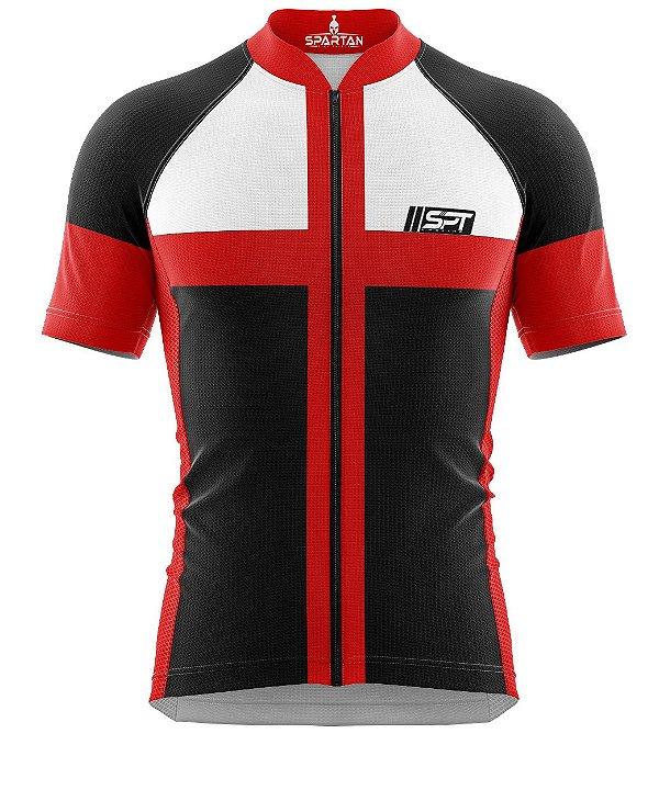 Camisa de Ciclismo Manga Curta Proteção Solar FPU 50+ Marca Spartan Coleção W Ref. 20