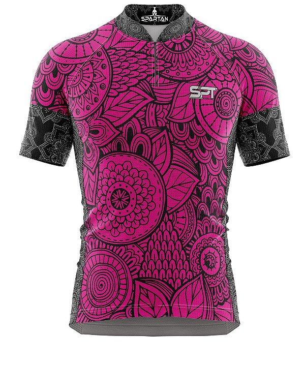 Camisa de Ciclismo Manga Curta Proteção Solar FPU 50+ Marca Spartan Coleção W Ref. 23