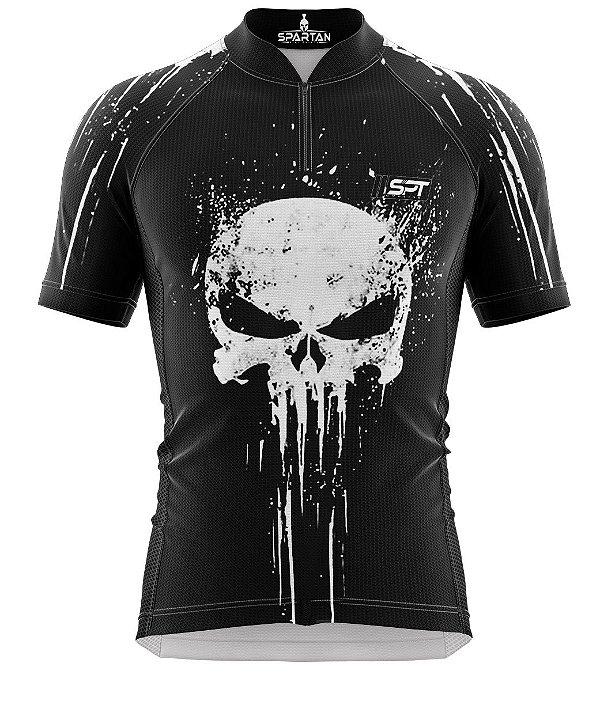 Camisa de Ciclismo Manga Curta Proteção Solar FPU 50+ Marca Spartan Coleção W Ref. 30.1