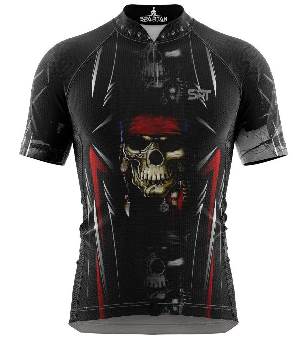 Camisa de Ciclismo Manga Curta Proteção Solar FPU 50+ Marca Spartan Coleção New Ref. 01