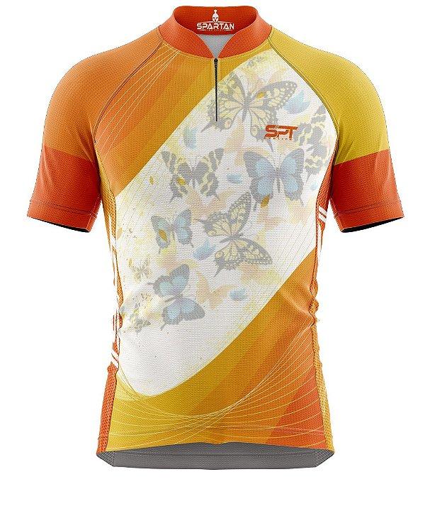 Camisa de Ciclismo Manga Curta Proteção Solar FPU 50+ Marca Spartan Coleção New Ref. 09