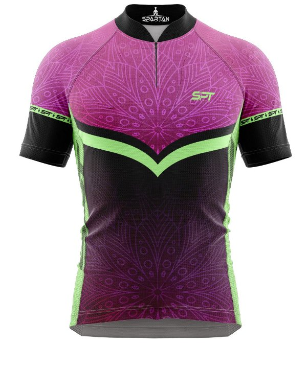 Camisa de Ciclismo Manga Curta Proteção Solar FPU 50+ Marca Spartan Coleção New Ref. 10