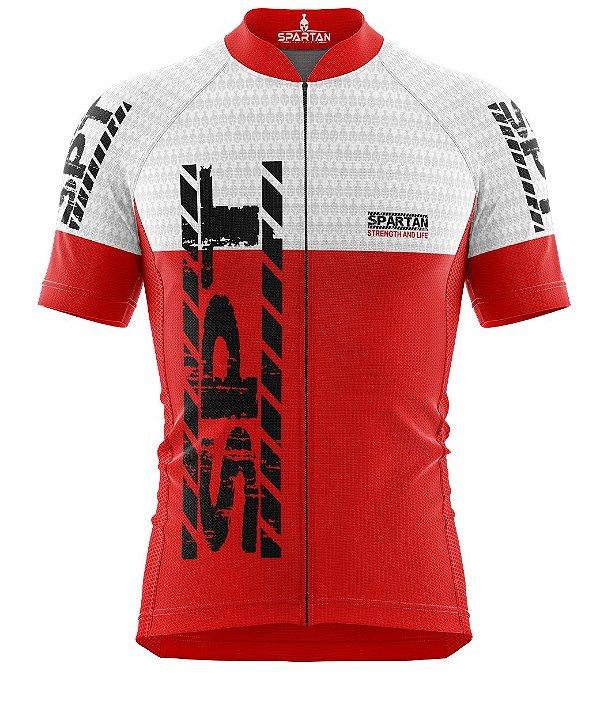 Camisa de Ciclismo Manga Curta Proteção Solar FPU 50+ Marca Spartan Coleção New Ref. 13