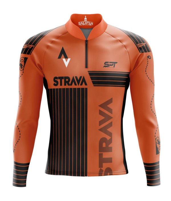 Camisa de Ciclismo Manga Longa Proteção Solar FPU 50+ Marca Spartan Coleção New Ref. 02.2