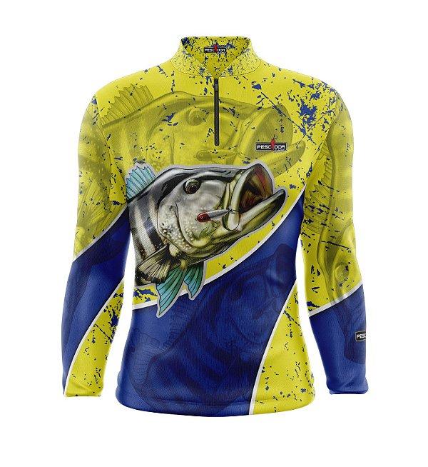 Camisa de Pesca Manga Longa Proteção Solar FPU 50+ Marca Pescador Fishing Coleção 2020/2021 Ref. 09