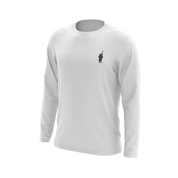 Camisa Segunda Pele Manga Longa Proteção Solar FPU 50+ Marca Pescador – Branco