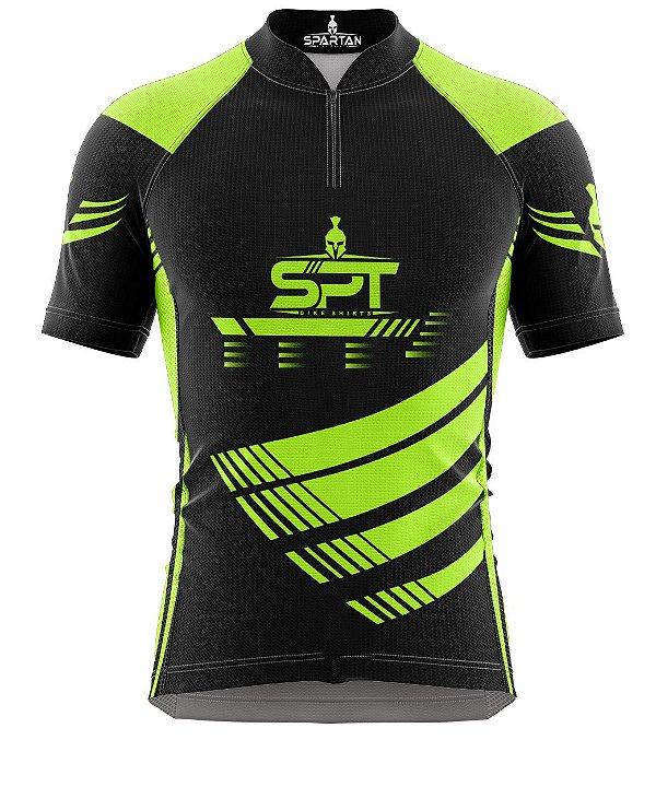 Camisa de Ciclismo Manga Curta Proteção Solar FPU 50+ Marca Spartan Ref. 06.1