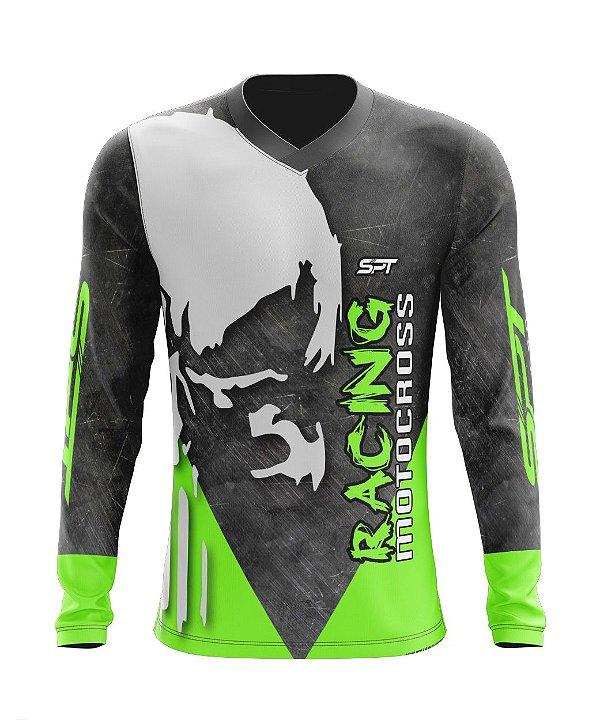 Camisa Motocross Proteção Solar FPU 50+ Spartan Ref. 07