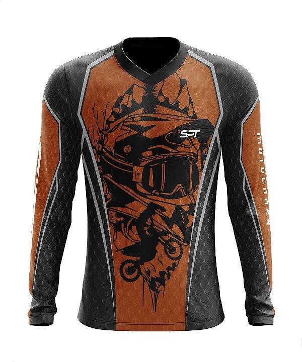 Camisa Motocross Proteção Solar FPU 50+ Spartan Ref. 09