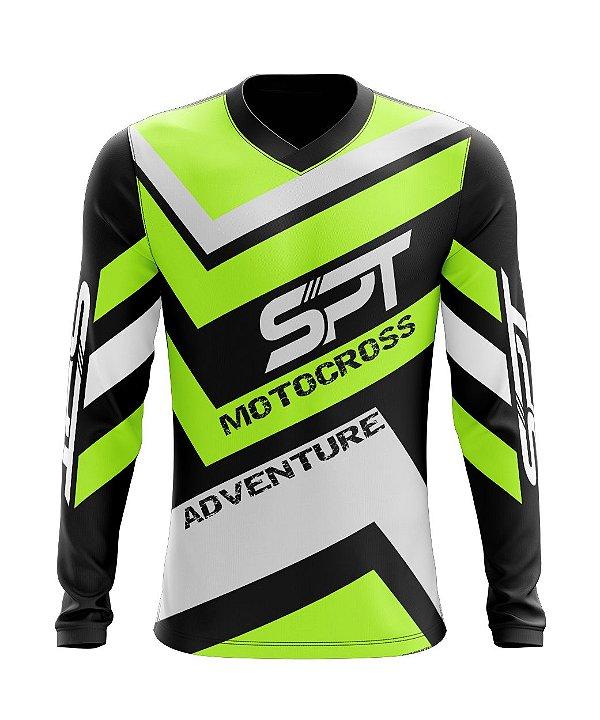 Camisa Motocross Proteção Solar FPU 50+ Spartan Ref. 11