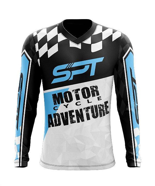Camisa Motocross Proteção Solar FPU 50+ Spartan Ref. 14