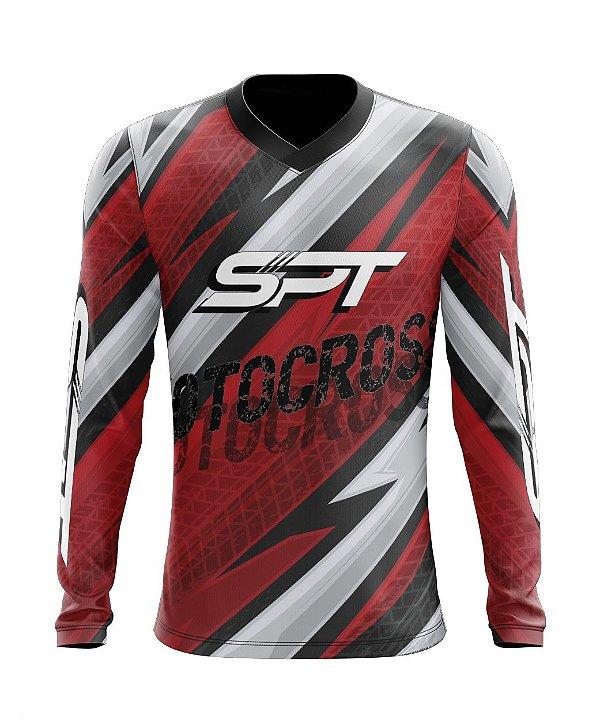 Camisa Motocross Proteção Solar FPU 50+ Spartan Ref. 18