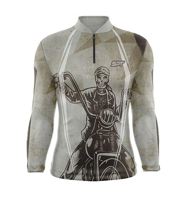 Camisa Motociclismo Proteção Solar FPU 50+ Spartan Ref. 11