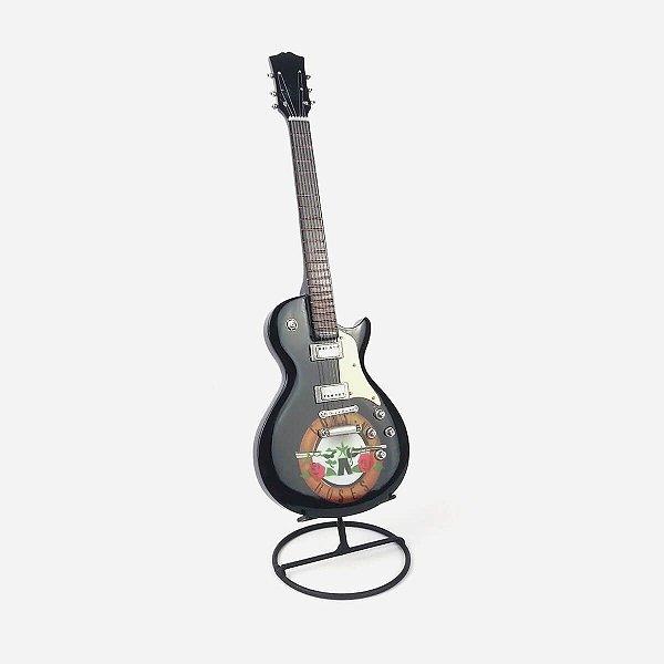 Guitarra Decorativa Guns N Roses