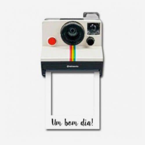 Porta Retrato Magnético Maquina Fotográfica Polaroid