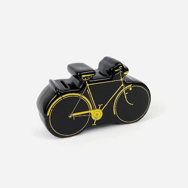 Cofre Decorativo Bicicleta Preto