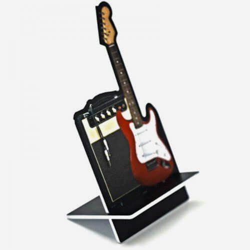 Porta Celular Guitarra
