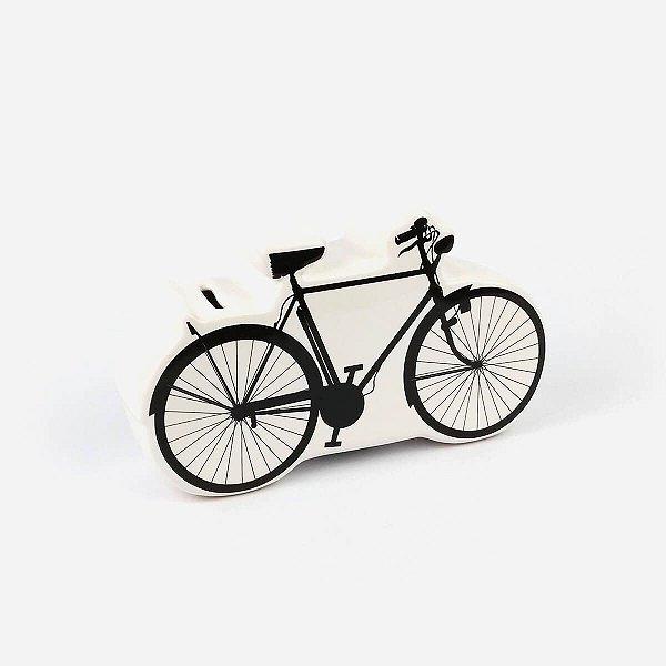 Cofre Decorativo Bicicleta Branco