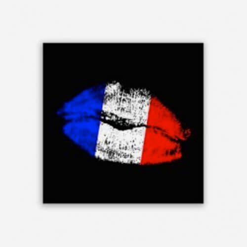 Quadro Beijo Francês
