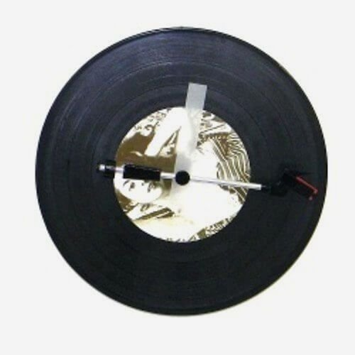 Relógio de Parede Vinil Spinning