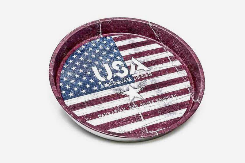 Bandeja USA Vintage