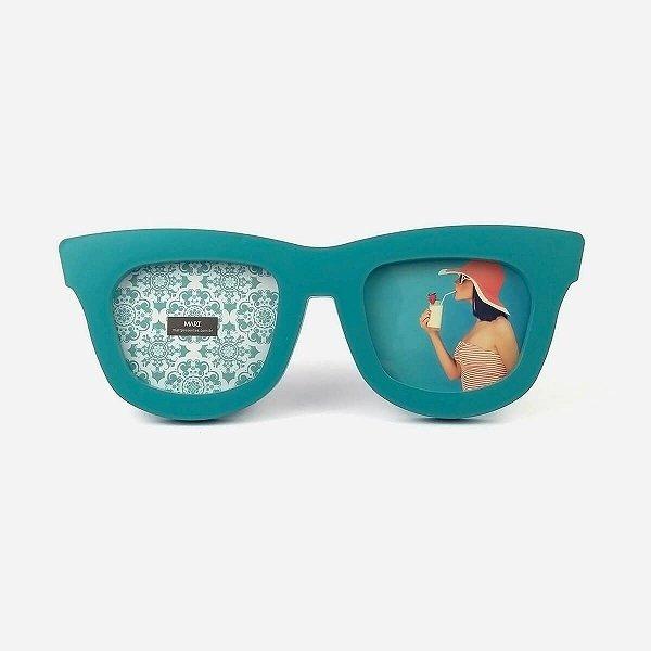 Porta Retrato Óculos Azul