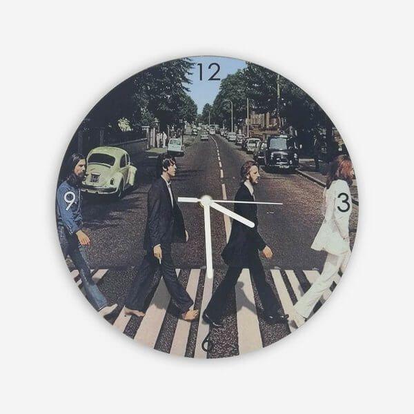 Relógio de Parede Beatles Abbey Road