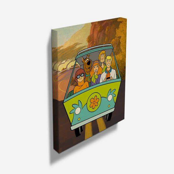 Quadro Scooby Doo Mystery Machine