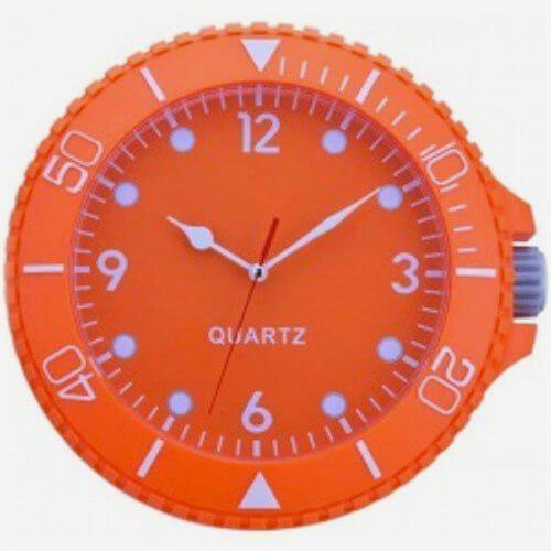 Relógio de Parede Swatch Laranja