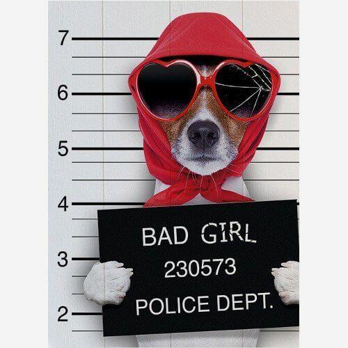 Quadro Bad Girl