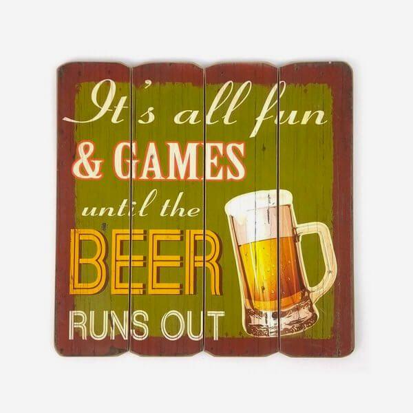 Quadro Beer Runs Out