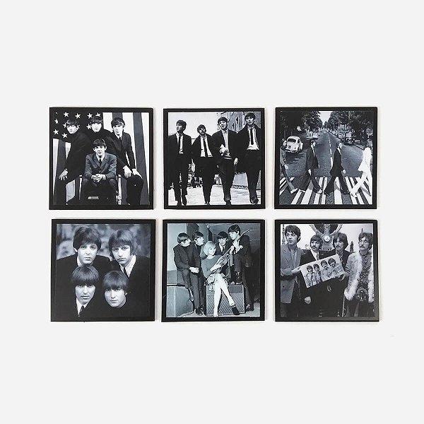 Porta Copos Beatles Retrô