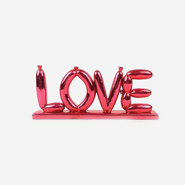 Objeto Decorativo Baloon Love